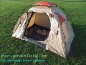 Instant Setup One Piece Camping Tent